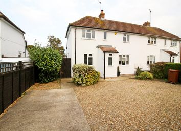 Thumbnail 3 bed semi-detached house for sale in Winslow Road, Wingrave, Aylesbury