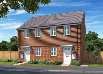 Thumbnail 2 bed semi-detached house for sale in Gipping Road, Great Blakenham, Ipswich