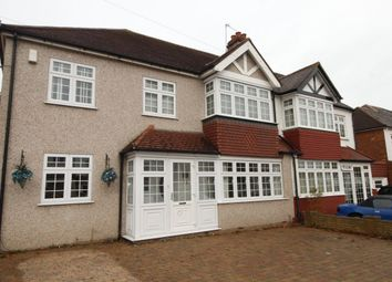 Thumbnail 5 bed semi-detached house for sale in Hilbert Road, Cheam, Sutton