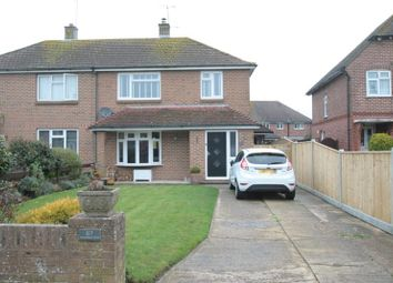 Thumbnail 3 bed semi-detached house to rent in Roundstone Drive, East Preston, Littlehampton