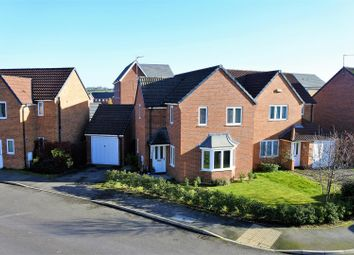 Thumbnail 3 bed detached house for sale in Hudson Way, Grantham