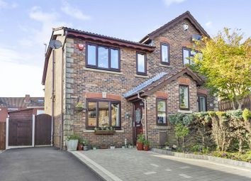Thumbnail 3 bed semi-detached house for sale in Adswood Close, Oldham