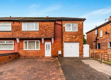 Thumbnail 4 bed semi-detached house for sale in Newport Avenue, Reddish, Stockport, Cheshire