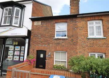 Thumbnail 2 bed terraced house for sale in St Judes Road, Englefield Green, Surrey
