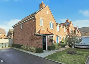 Thumbnail 3 bedroom end terrace house for sale in Sherwood Close, Wootton, Bedford