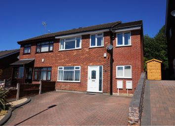 Thumbnail 4 bed semi-detached house for sale in Harington Drive, Parkhall, Stoke-On-Trent