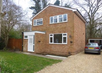 Thumbnail 4 bed detached house to rent in Fleming Close, Farnborough, Hampshire