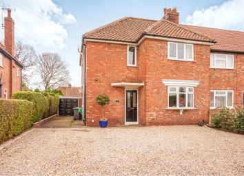 Thumbnail 3 bedroom semi-detached house for sale in North Moor, York