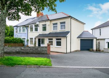 Thumbnail 3 bed semi-detached house for sale in Hastings Place, Penarth