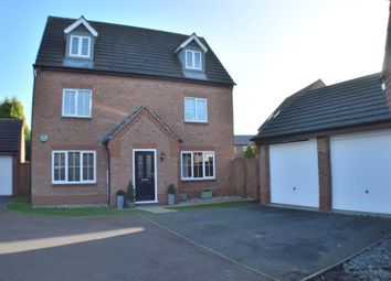 Thumbnail 5 bed detached house for sale in Barlow Drive, Williams Avenue, Fradley, Staffordshire