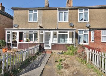 Thumbnail 2 bed terraced house to rent in Cross Road, Maldon