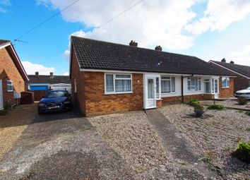 Thumbnail 3 bed semi-detached bungalow for sale in Warwick Drive, Wymondham