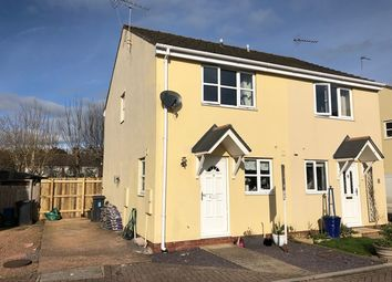 Thumbnail 2 bed semi-detached house for sale in Plume Of Feathers Close, Ottery St. Mary