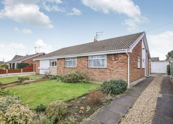 Thumbnail 3 bed semi-detached bungalow for sale in Eastfield Road, Armthorpe, Doncaster