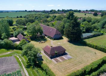 Thumbnail 5 bed barn conversion for sale in The Street, Woodnesborough, Sandwich