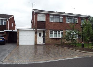 Thumbnail 3 bed semi-detached house for sale in Millersdale Drive, West Bromwich, West Midlands