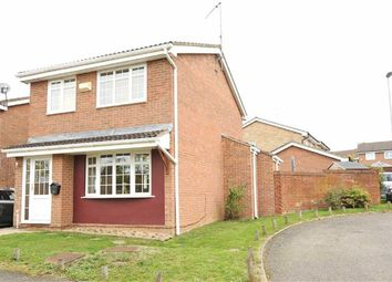 Thumbnail 3 bed detached house for sale in Medway Drive, Wellingborough