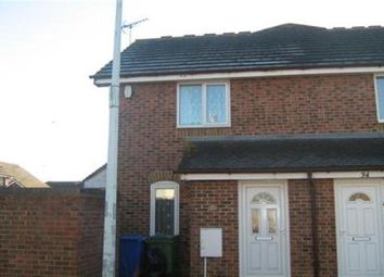 Thumbnail 1 bed terraced house to rent in Vaughan Drive, Kemsley, Sittingbourne