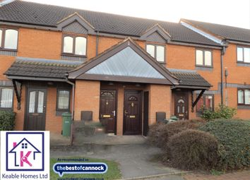 Thumbnail 2 bed flat for sale in Balmoral Court, Hednesford, Cannock