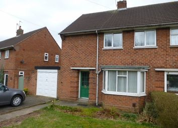 Thumbnail 3 bedroom terraced house to rent in Windmill Crescent, Wolverhampton