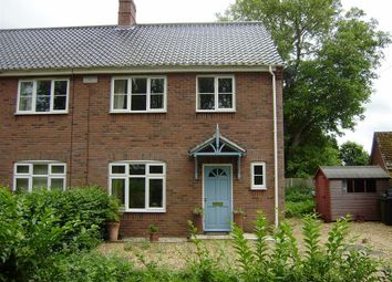 Thumbnail 3 bed property to rent in Ashwellthorpe Road, Wreningham, Norwich