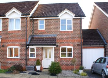 Thumbnail 3 bed semi-detached house for sale in Coniston Close, Woodley, Reading, Berkshire