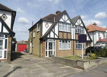 Thumbnail 3 bed semi-detached house for sale in Belfield Road, West Ewell, Epsom