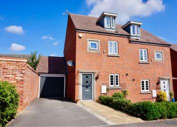 Thumbnail 3 bed semi-detached house for sale in Appleton Drive, Basingstoke