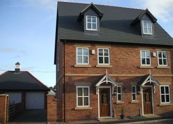 Thumbnail 3 bed semi-detached house to rent in Chapel Gardens, Penley, Wrexham