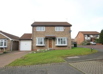 Thumbnail 4 bed detached house for sale in Plover Close, Washington
