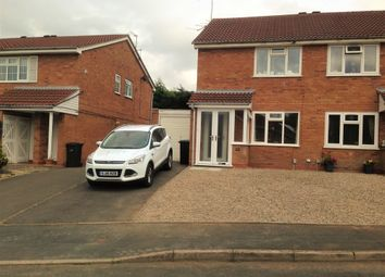 Thumbnail 2 bed semi-detached house to rent in Kirkstone Court, Lakeside, Brierley Hill, West Midlands