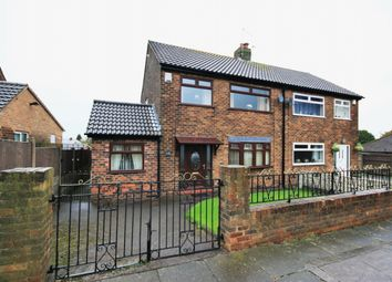 Thumbnail 4 bed semi-detached house for sale in Derwent Road, Orrell, Wigan