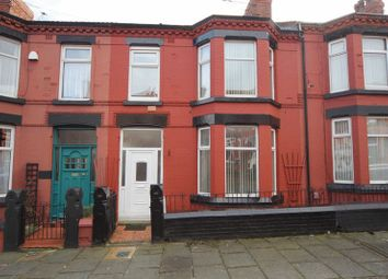 Thumbnail 3 bed terraced house for sale in Waring Avenue, Tranmere, Wirral