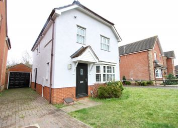 Thumbnail 3 bed detached house to rent in Brimstone Road, Ipswich, Suffolk