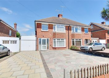 Thumbnail 3 bed semi-detached house for sale in The Strand, Goring-By-Sea, Worthing, West Sussex