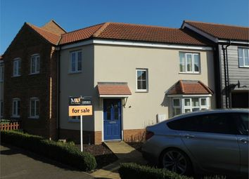 Thumbnail 3 bedroom terraced house for sale in Water Meadow Way, Downham Market