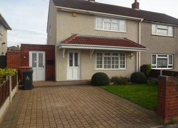 Thumbnail 2 bedroom semi-detached house to rent in Attlee Road, Bentley, Walsall