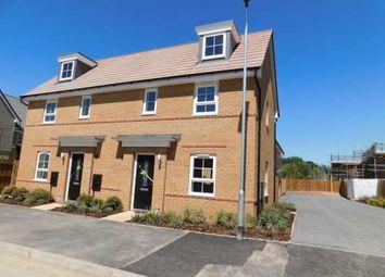 Thumbnail 2 bed semi-detached house to rent in Aqua Drive, Hampton Water, Peterborough
