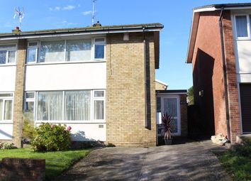 Thumbnail 2 bed semi-detached house for sale in Manor Park, Llantwit Major