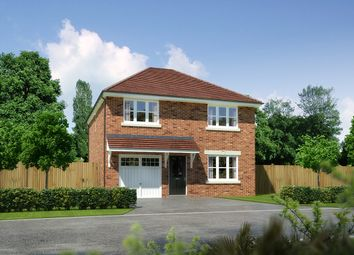 "Thumbnail 4 bed detached house for sale in ""Denewood"" at Palladian Gardens, Hooton Road, Hooton, Wirral"