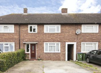 Thumbnail 3 bed terraced house to rent in Hillary Crescent, Walton-On-Thames