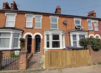 Thumbnail 3 bed terraced house to rent in Faraday Road, Ipswich