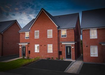 "Thumbnail 4 bed semi-detached house for sale in ""Oakham"" at Plox Brow, Tarleton, Preston"