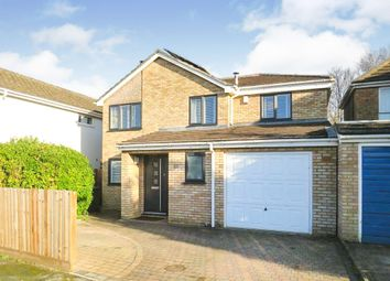 Thumbnail 4 bed detached house for sale in Walnut Tree Close, Bassingbourn, Royston