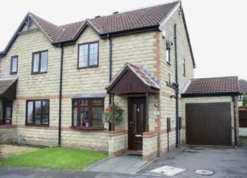 Thumbnail 3 bed semi-detached house for sale in Oakes Close, Somercotes, Alfreton