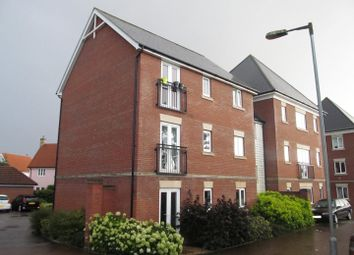 Thumbnail 2 bedroom flat for sale in Eider Close, Stowmarket