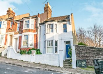 Thumbnail 2 bed end terrace house for sale in Newmarket Terrace, Brighton