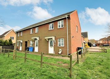 Thumbnail 3 bed semi-detached house for sale in Roe Drive, Norwich