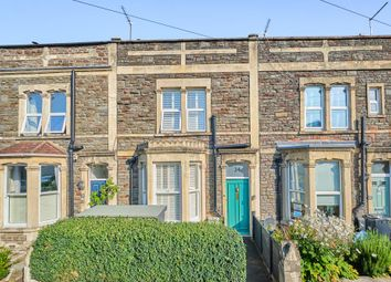 Thumbnail 3 bed terraced house for sale in Queen Victoria Road, Westbury Park, Bristol