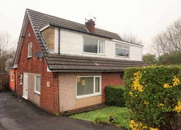 Thumbnail 3 bed semi-detached house for sale in Cornwall Avenue, Knuzden, Blackburn